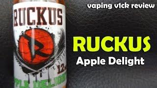 Ruckus Elixirs Apple Delight - Juice Review