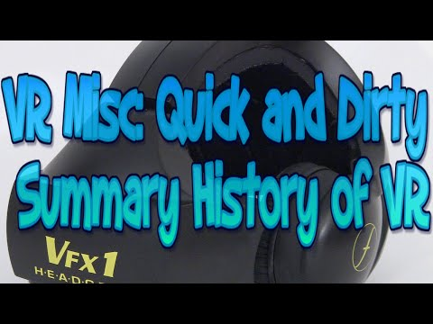 VR Misc: The Quick and Dirty VR History Summary