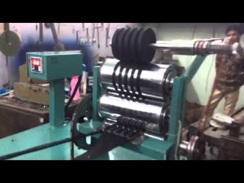 Fabric bias tape making machine