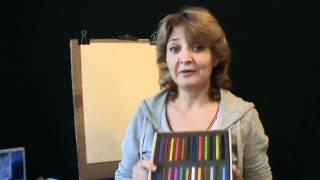 Пастель  Уроки пастели  Вводный курс в пастель