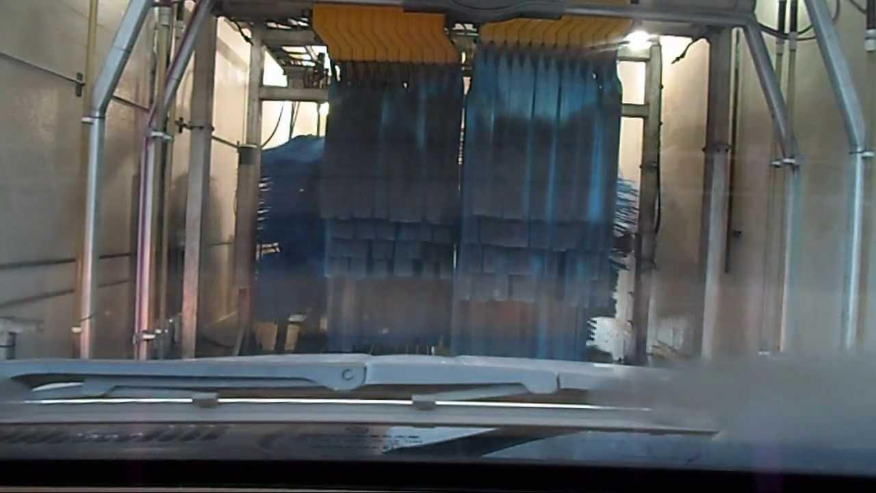 Shell Gas Station Car Wash >> Rolling Through a Car Wash at a Shell Gas Station - YouTube