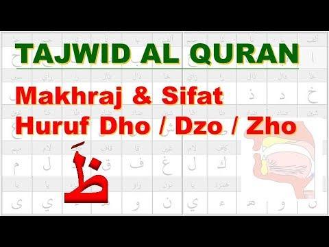 Belajar Tajwid 24: Makhraj & Sifat Huruf Dho Dzo Zho ظَ | Tahsin | Aisar | Ustadz Abu Hamid Fauzi
