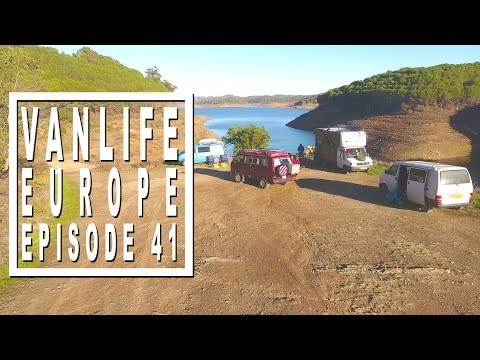 Vanlife Vlog: Meet up with old and new friends in Algarve