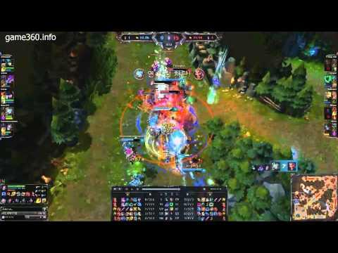 Pha wombo combo đẹp mắt của những người chơi server Hàn