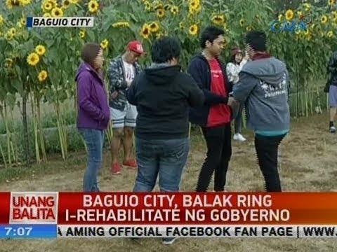 UB: Baguio City, balak ring i-rehabilitate ng gobyerno