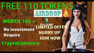 Free 110 Crypto Token | RealCasino | Get 110 Tokens Now - Worth 10$ - Upcoming Crypto Currency