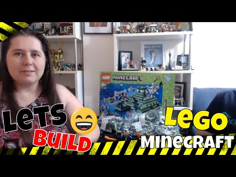 Live Chat and LEGO build Minecraft 21136 The Ocean Monument