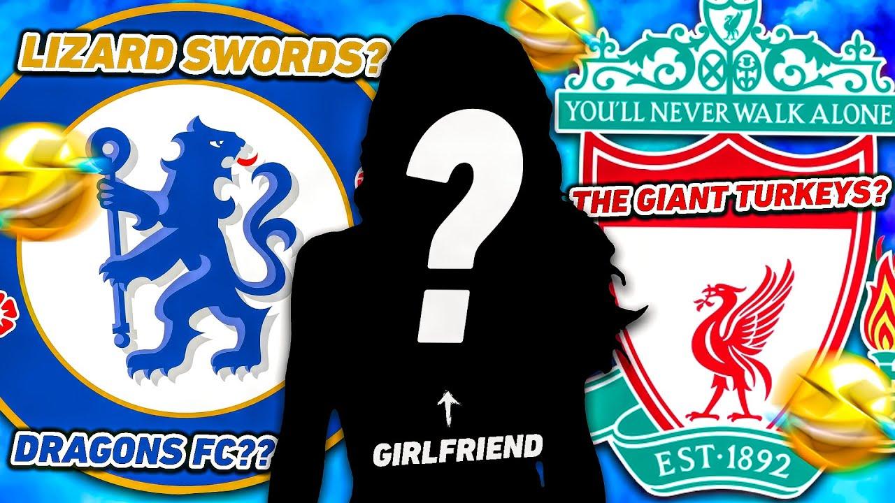 Girlfriend Guesses PREMIER LEAGUE Club Names... 😂 #Shorts