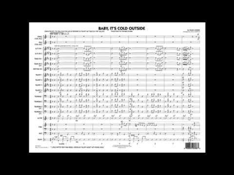 Baby, It's Cold Outside by Frank Loesser/arr. by Paul Murtha
