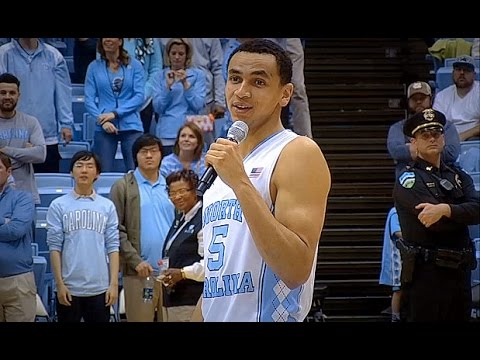 UNC Men's Basketball: Marcus Paige Senior Night Speech