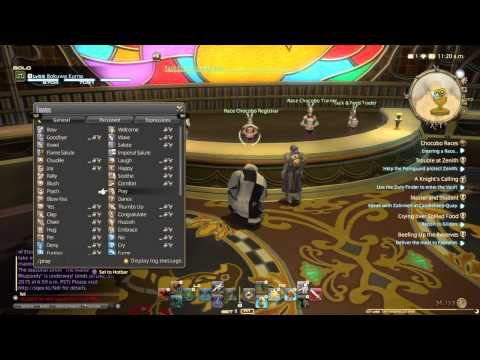 X|V Chocobo Racing/ Gold Saucer Attractions
