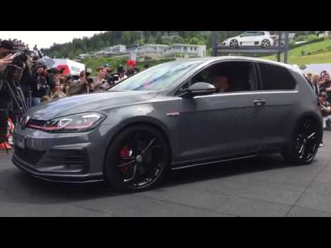 Unveiling Of The All New Volkswagen Golf GTI TCR