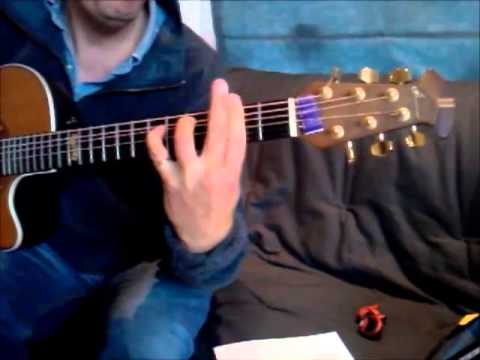 How To Play Guitar Chords For Manilows Copacabana Youtube