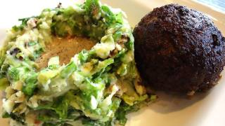 Endive Mash And Dutch Meatballs