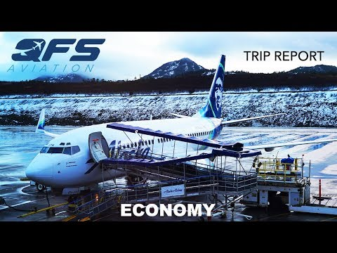 TRIP REPORT | Alaska Airlines - 737 700 - Ketchikan (KTN) to Seattle (SEA) | Economy