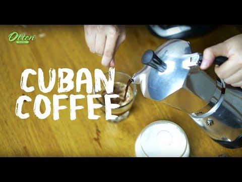 Cara Mudah Membuat Cuban Coffee!