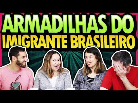 ARMADILHAS DO IMIGRANTE BRASILEIRO - POLÊMICA