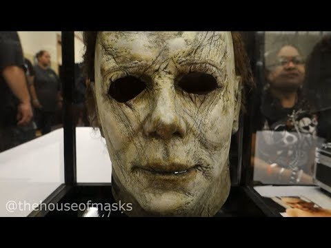 SCREEN USED MICHAEL MYERS 2018 MASK!