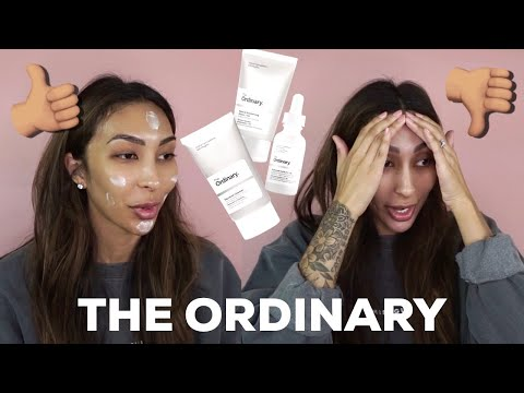 I USED THE ORDINARY SKINCARE FOR A MONTH.. AND THIS IS WHAT HAPPENED!!!