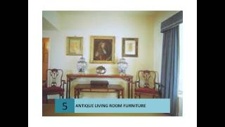 Classic Italian Antique Living Room Furniture