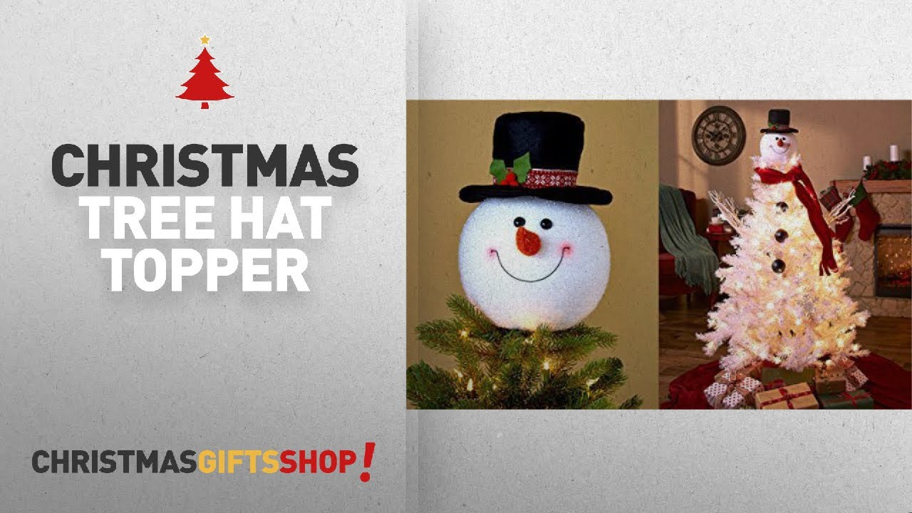 Most Popular Christmas Tree Hat Topper: Frosty Snowman Top