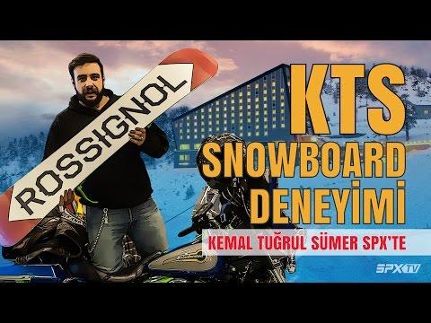 Snowboard'a Nasıl Başlanır? - Kemal Tuğrul Sümer SPX'te I SPXTV