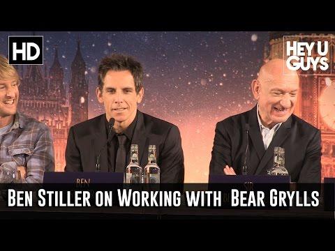 Ben Stiller Talks Working with Bear Grylls on Bear's Wild Weekend with Ben Stiller