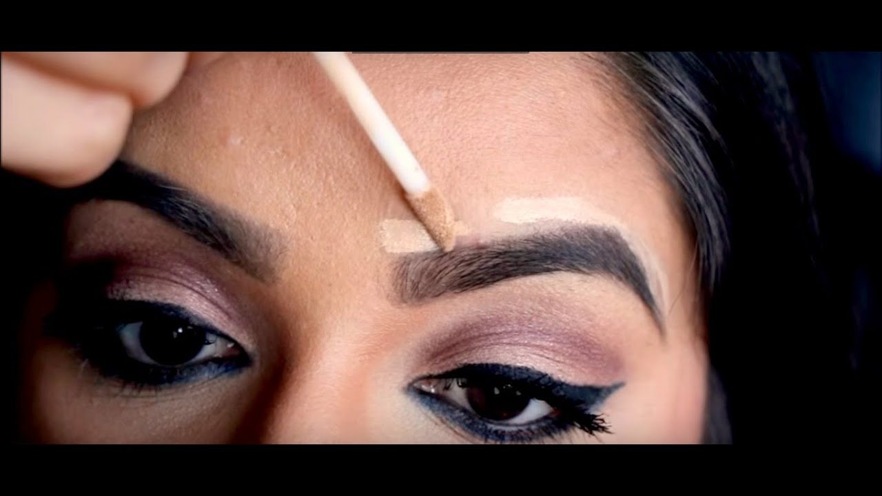 How To Fill In Your Eyebrows Youtube