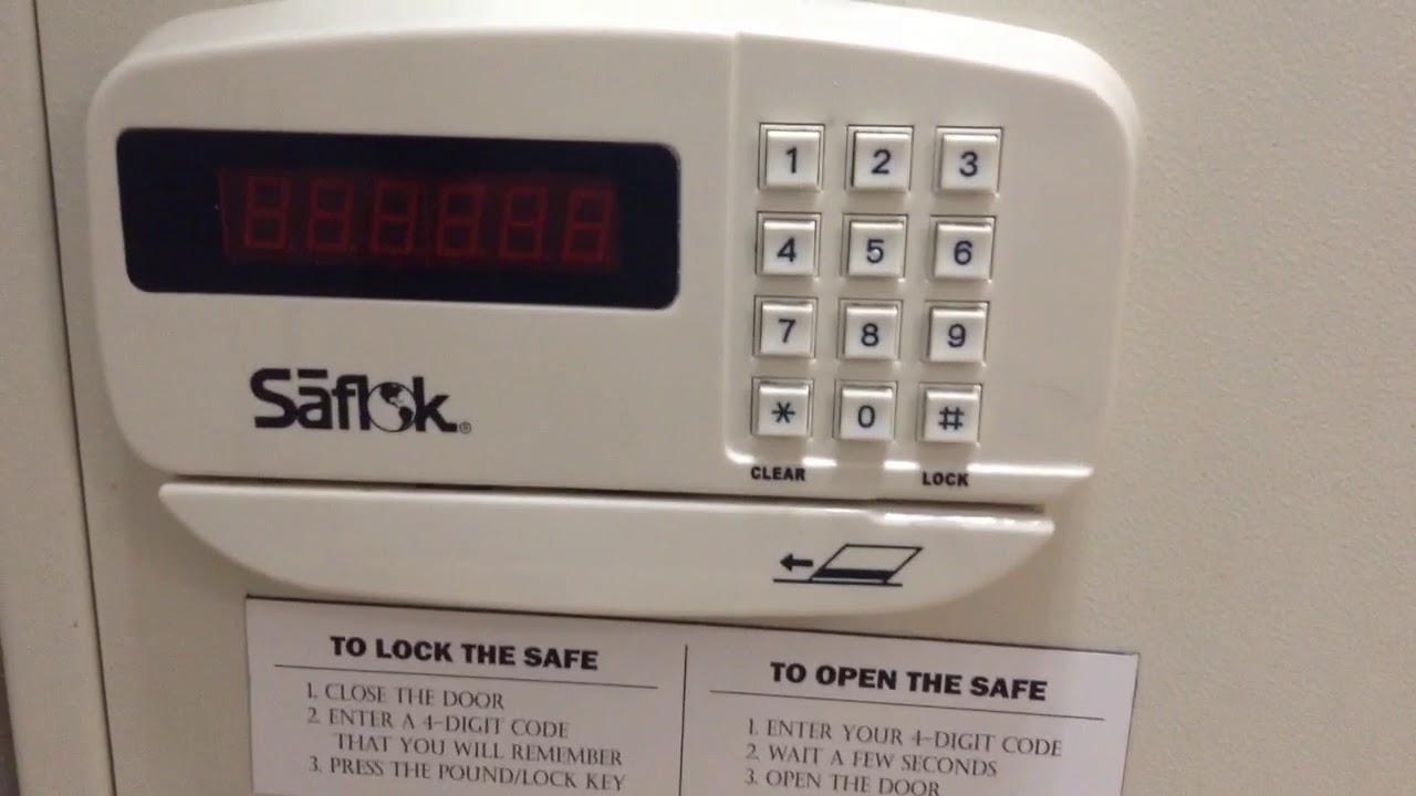 Hotel Safe Hack