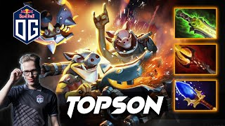 TOPSON TECHIES - Dota 2 Pro Gameplay [Watch & Learn]