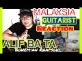 ALIP_BA_TA Bohemian Rhapsody Queen CoverREACTION MALAYSIA GUITARIST   ANDY IRWANDY