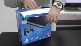 Unboxing SONY PlayStation 3 Super Slim 12GB