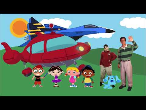 Little Einsteins and Blues Clues So Long Song by Noah and Steve Burns