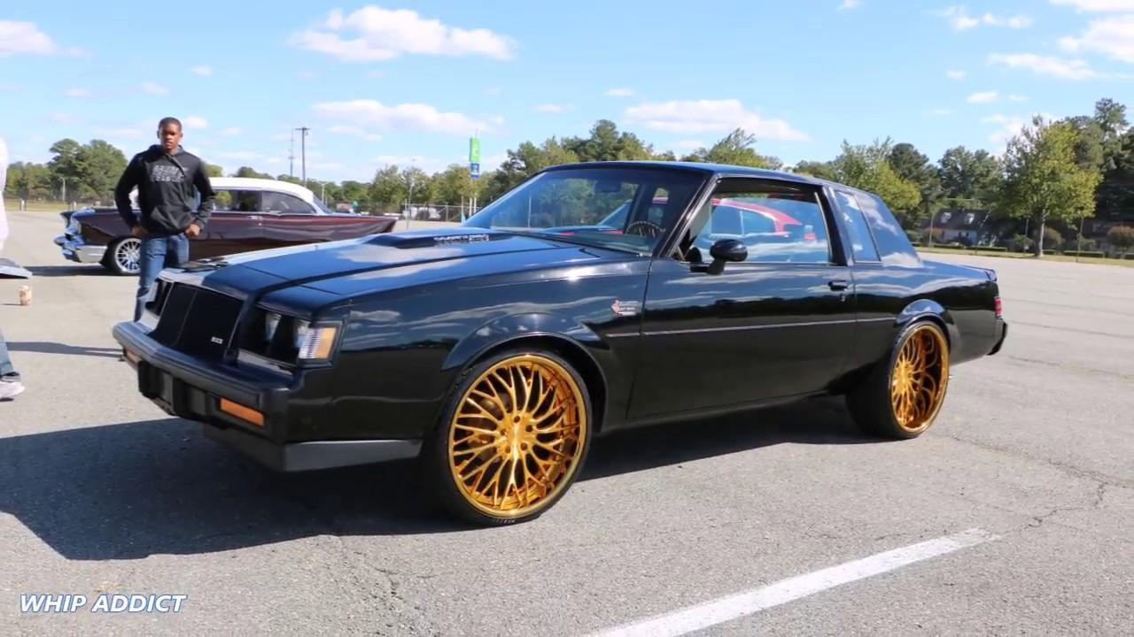 WhipAddict: Buick Grand National on all gold DUB Trikk 24s ...