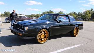 WhipAddict: Buick Grand National on all gold DUB Trikk 24s, Beatin Sound System