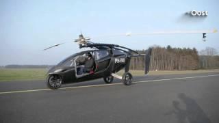 Te koop: Eerste vliegende auto, exclusief bij autobedrijf Munsterhuis in Hengelo