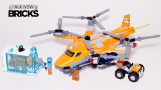 Lego City 60193 Arctic Air Transport Lego Speed Build