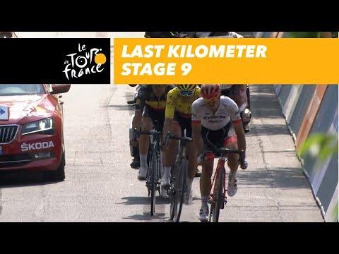 Last kilometer - Stage 9 - Tour de France 2018