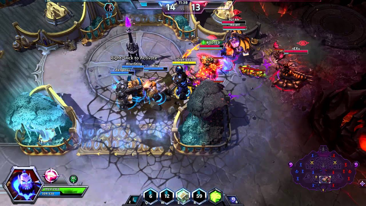heroes of the storm how to play thrall