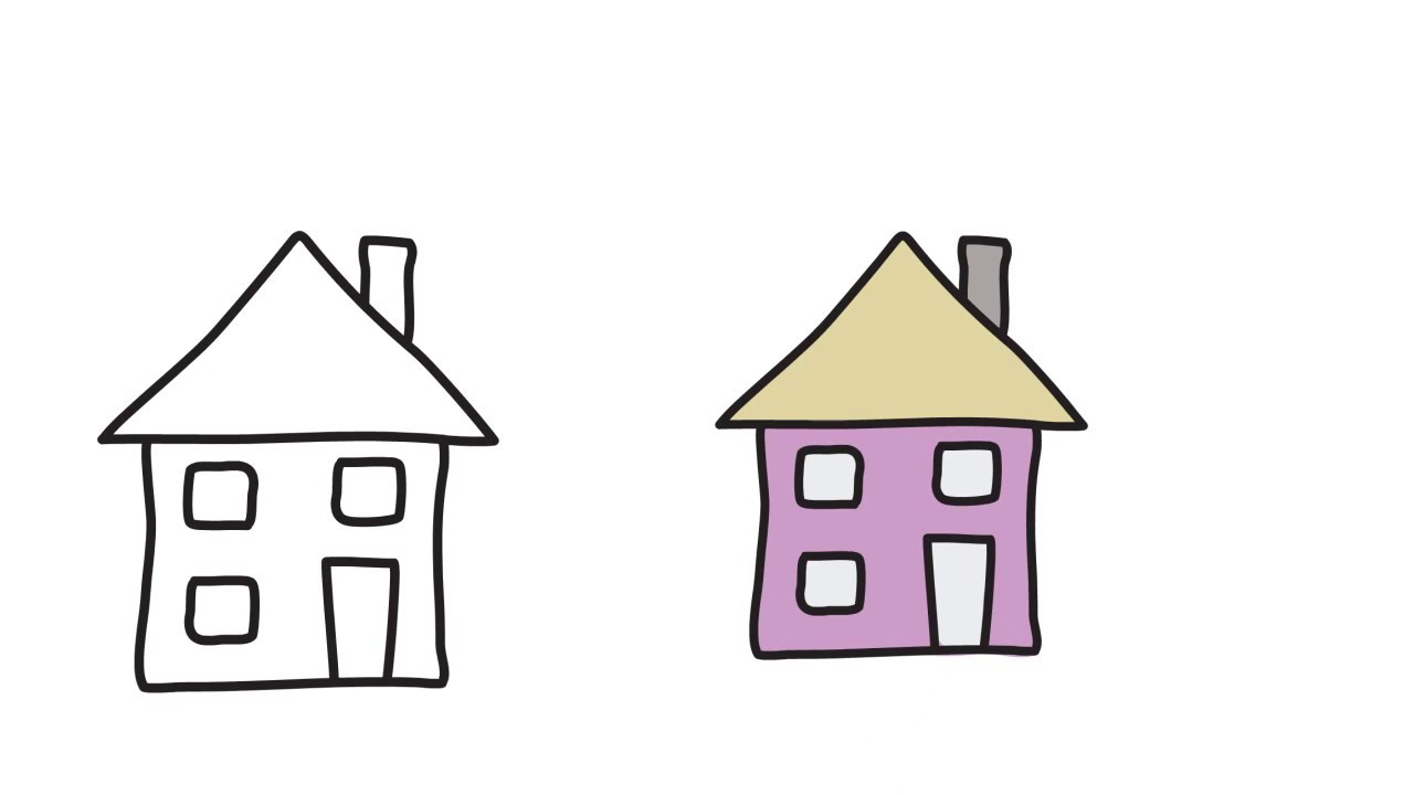 An easy and beautiful home drawing for kids hd video arian art school