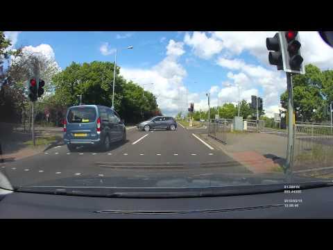 Near miss in basildon towards A127
