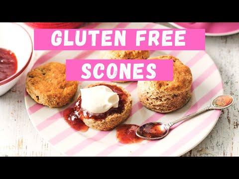 How To Make Gluten-Free Scones | Healthy Treats | Delicious + Healthy