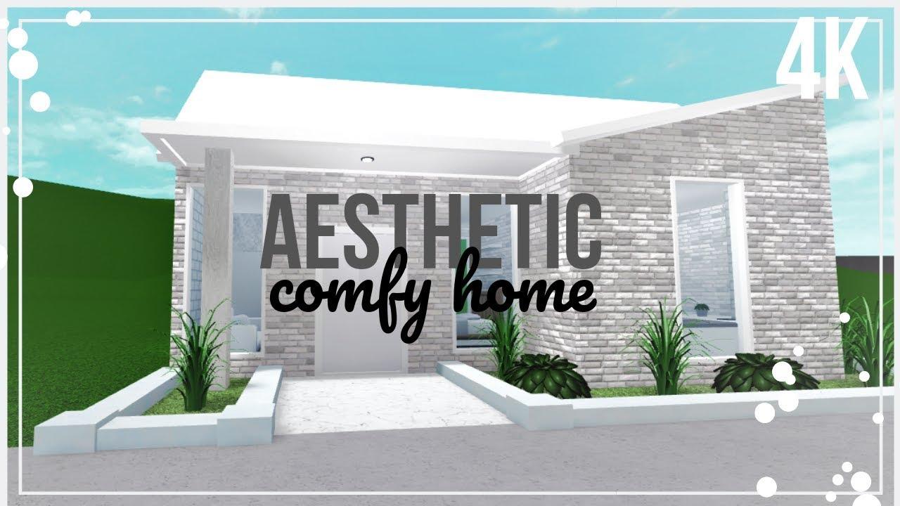 4k Comfy Aesthetic House Cheap Bloxburg House No Gamepass