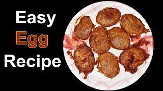 Bengali Egg Chop Recipe I Egg Recipes Indian Style