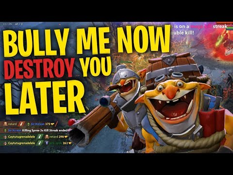 Bully Me Now, Destroy You Later - Techies DotA 2 Full Match