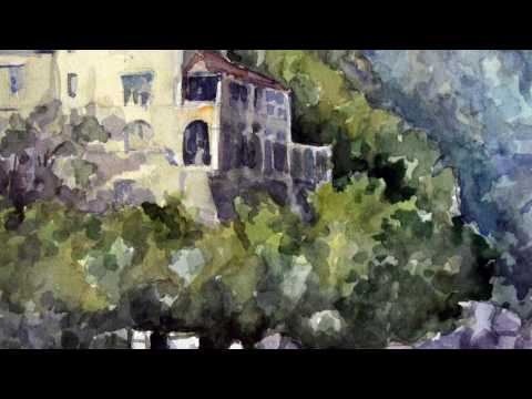 Watercolor Landscape Painting Demonstration