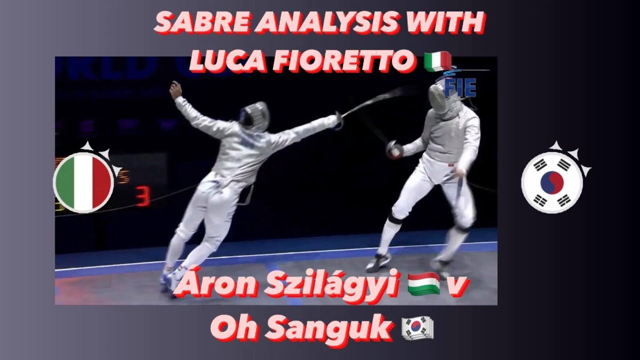 Szilagyi vs. Oh Analysis with Junior World Cup Winner Luca Fioretto