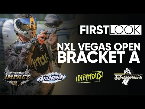 FIRSTLOOK - NXL Paintball Vegas Bracket A - Meter Ninios from Ironmen