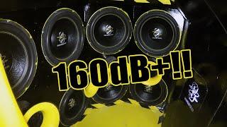 10000W+ 160dB+ Skoda!!  Kim Nurminen, Team dB Demo