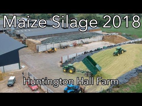 Maize Silage 2018 | Huntington Hall Farm